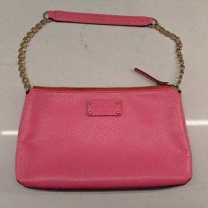 Kate Spade Adela Bright Pink Leather Shoulder Bag